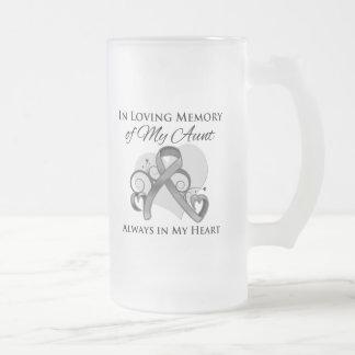 In Memory of My Aunt - Brain Cancer Mug