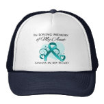 In Memory of My Aunt - Ovarian Cancer Trucker Hat