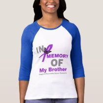 In Memory of My Brother Pancreatic Cancer T-Shirt