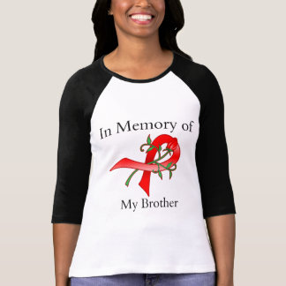 In Memory of My Brother - Stroke Disease T Shirt