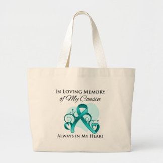 In Memory of My Cousin- Ovarian Cancer Bags