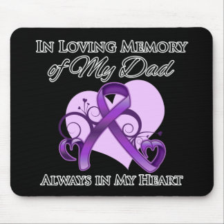 In Memory of My Dad - Pancreatic Cancer Mouse Pad