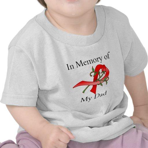In Memory of My Dad - Stroke Disease Tees