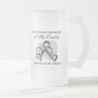 In Memory of My Daddy - Brain Cancer Coffee Mugs