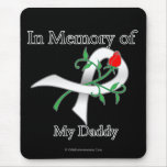 In Memory of My Daddy - Lung Cancer Mouse Pad