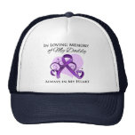 In Memory of My Daddy - Pancreatic Cancer Mesh Hat