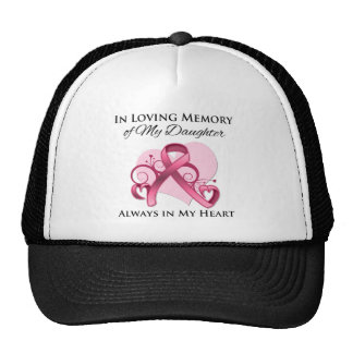 In Memory of My Daughter - Breast Cancer Trucker Hat