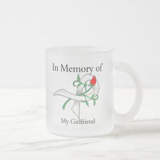 In Memory of My Girlfriend - Lung Cancer Coffee Mug