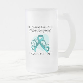 In Memory of My Girlfriend - Ovarian Cancer Mug