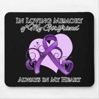 In Memory of My Girlfriend - Pancreatic Cancer Mouse Pads