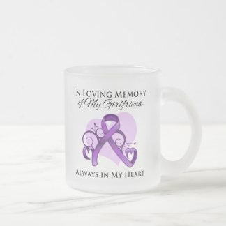 In Memory of My Girlfriend - Pancreatic Cancer Mugs