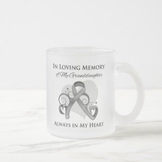 In Memory of My Granddaughter - Brain Cancer Mug