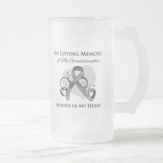 In Memory of My Granddaughter - Brain Cancer Mugs