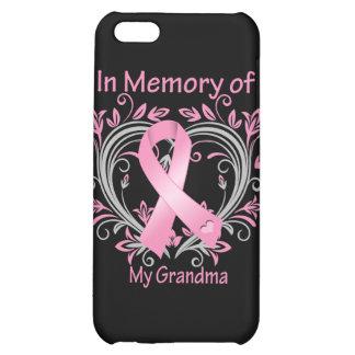 In Memory of My Grandma Breast Cancer Heart iPhone 5C Case