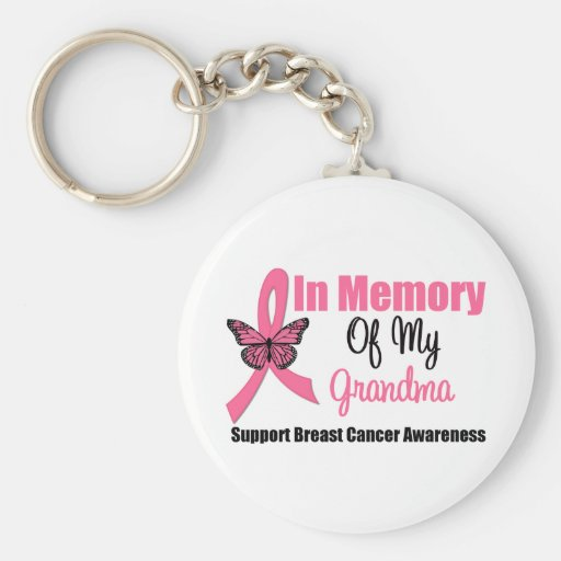 In Memory of My Grandma Keychains