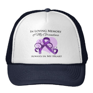 In Memory of My Grandma - Pancreatic Cancer Trucker Hat