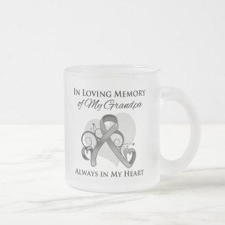 In Memory of My Grandpa - Brain Cancer Mugs