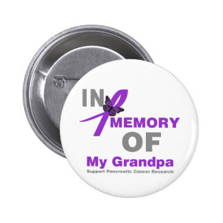 In Memory of My Grandpa Pancreatic Cancer Pins