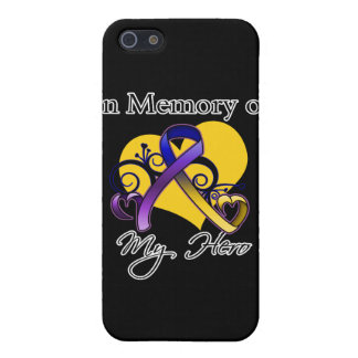 In Memory of My Hero - Bladder Cancer iPhone 5 Case