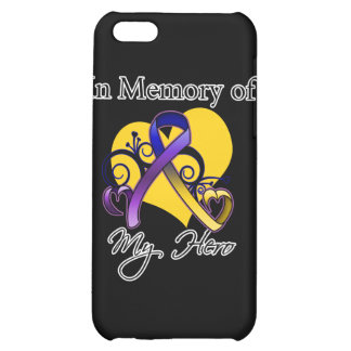 In Memory of My Hero - Bladder Cancer iPhone 5C Covers