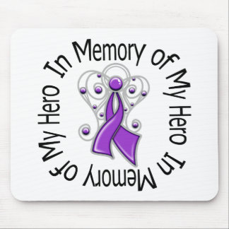 In Memory of My Hero Domestic Violence Mouse Pad