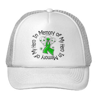 In Memory of My Hero Kidney Cancer Angel Wings Trucker Hat