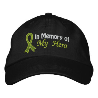 In Memory of My Hero - Lymphoma Baseball Cap