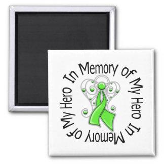 In Memory of My Hero Mental Health Awareness Fridge Magnets