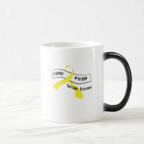In Memory Of My Hero Sarcoma Awareness Magic Mug