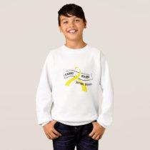 In Memory Of My Hero Sarcoma Awareness Sweatshirt