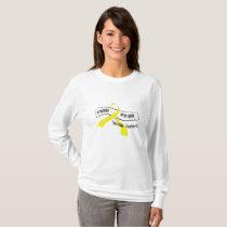In Memory Of My Hero Sarcoma Awareness T-Shirt