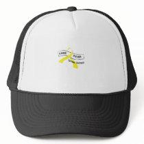 In Memory Of My Hero Sarcoma Awareness Trucker Hat