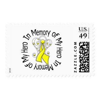 In Memory of My Hero Suicide Prevention Postage Stamp