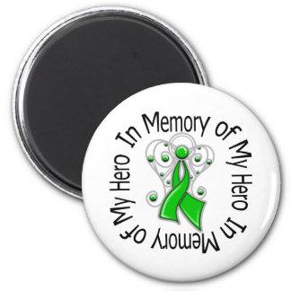 In Memory of My Hero Traumatic Brain Injury 2 Inch Round Magnet