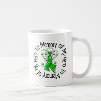 In Memory of My Hero Traumatic Brain Injury Classic White Coffee Mug
