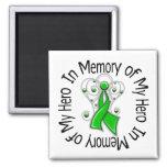 In Memory of My Hero Traumatic Brain Injury Magnets