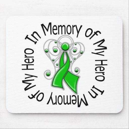 In Memory of My Hero Traumatic Brain Injury Mouse Pad
