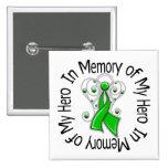 In Memory of My Hero Traumatic Brain Injury Pin