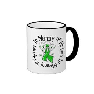 In Memory of My Hero Traumatic Brain Injury Ringer Coffee Mug