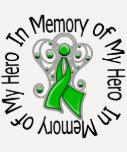In Memory of My Hero Traumatic Brain Injury T Shirt