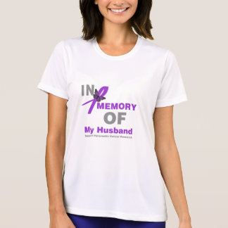 In Memory of My Husband Pancreatic Cancer Tees