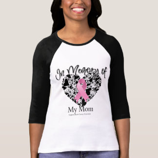 In Memory of My Mom - Breast Cancer Awareness Tee Shirts