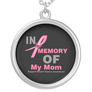 In Memory of My Mom - Breast Cancer Custom Jewelry