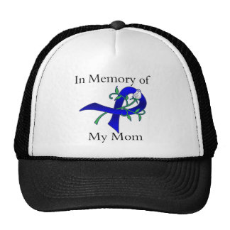 In Memory of My Mom - Colon Cancer Trucker Hats