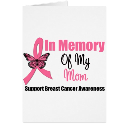 In Memory of My Mom Greeting Cards