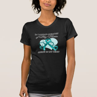 In Memory of My Mom - Ovarian Cancer T Shirts