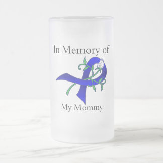 In Memory of My Mommy - Colon Cancer Mugs