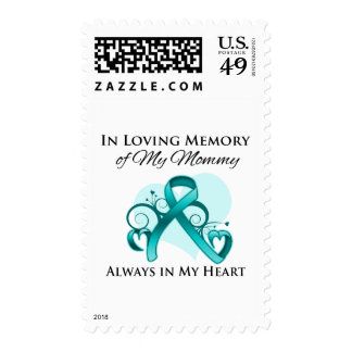In Memory of My Mommy - Ovarian Cancer Stamp