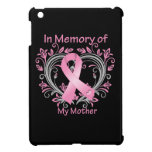 In Memory of My Mother Breast Cancer Heart iPad Mini Cover