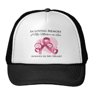 In Memory of My Mother-in-Law - Breast Cancer Trucker Hat